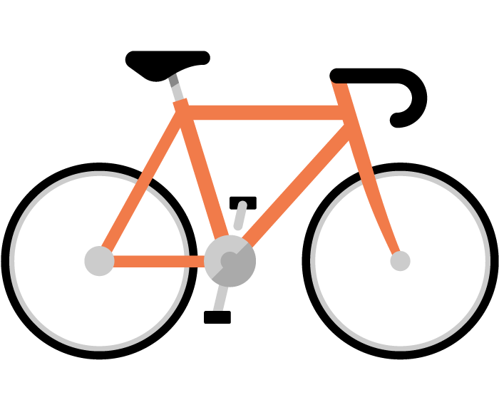 Color Bike Icons