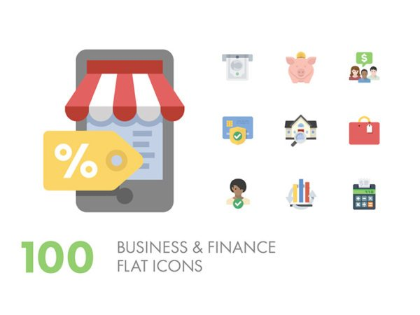 Preview of Business & Finance Icons