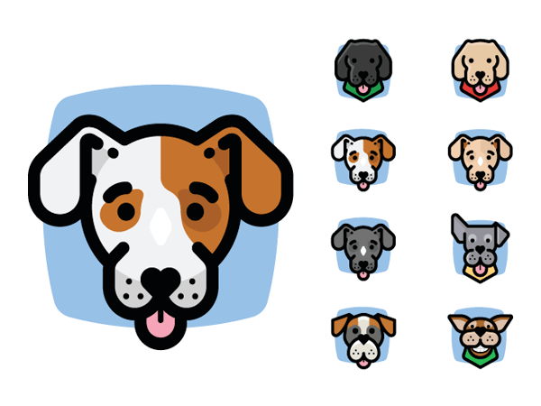 Preview of Dog Avatars