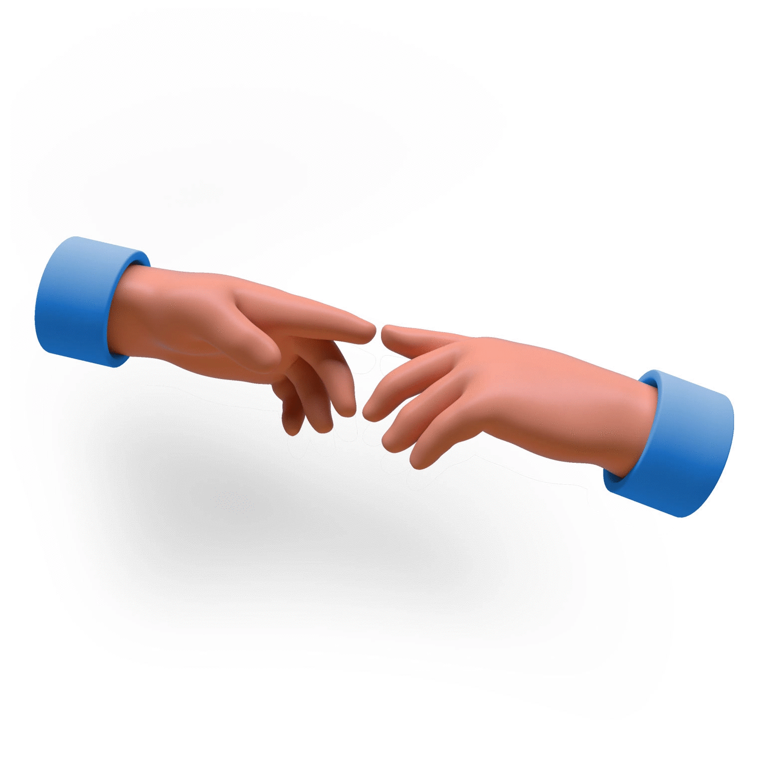 Preview of 3D Hands Illustrations