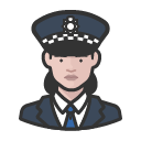 police-officer-scotland-yard-caucasian-woman