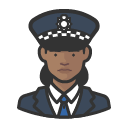 police-officer-scotland-yard-african-woman